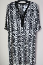 Women`s Next Tunic Black and Cream 12 Tall