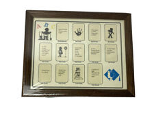 """School Years Picture Frame Collage Multi-Photo Wood 12"""" x 9.5"""" NEW Sealed"""