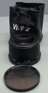 Vivitar HD4 MC High Definition 2.2X AUX Telephoto Lens Converter w/ Bag 58mm