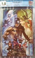 CGC 9.8 The Batman Who Laughs #6 Mico Suayan Unknown Virgin Variant DC 2019