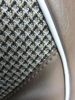 Juego completo tapicería pata de gallo Seat 600 D