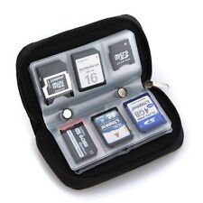 Memory Card Storage Carrying Case Holder Wallet For MMC HC CF