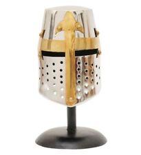 Antique Crusader Great Helmet Medieval Knights Templar Cross Sign Helmet