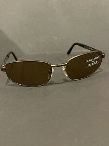Giorgio Armani Sunglasses 1511 1126 Bronze Metal Brown Lens Italy - New - NR