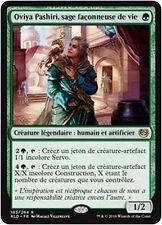 MTG Magic KLD FOIL - Oviya Pashiri, Sage Lifecrafter/sage façonneuse, French/VF