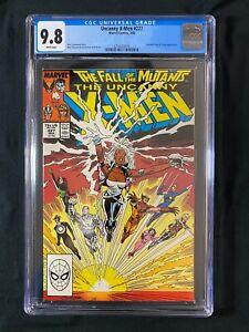 Uncanny X-Men #227 CGC 9.8 (1988) - Freedom Force & Forge app