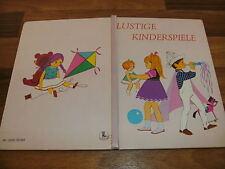 Nans van Leeuwen -- LUSTIGE KINDERSPIELE // mit zauberhaften Illustrationen