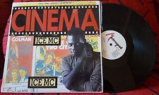 "ICE MC ***Cinema*** ORIGINAL & SCARCE Spain 12"" Single 1990"