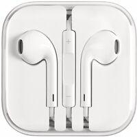 (2Set) OEM for Apple Earphones 3.5mm iPhone 5 5s 6 6s EarPods Remote Mic. + Case