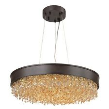 Maxim Mystic 16-Light Pendant, Bronze - 39655SHBZ