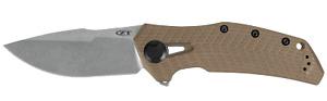 Zero Tolerance 0308 Frame Lock Knife Coyote Tan G-10 & Titanium 20CV Stainless