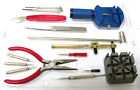 16pc Jewelry Repair Set Kit Watch Wristwatch Battery Changer Link Remover Tool