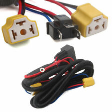 Car H4 Headlight Relay Wiring Harness System 2 Headlamp Light Bulb Fix Dim Light