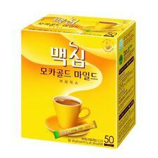 New Maxim MOCHA GOLD MILD Instant Coffee Mix 50 Sticks or 100 Sticks maxim coffe
