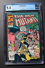 NEW MUTANTS #8 first Amara Aquilla MAGMA 1983 20th Century Fox Movie CGC NM 9.4
