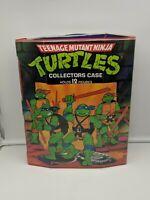 Vintage TMNT Ninja Turtles Figure Collectors Carrying Case w 2 Insert Trays 1988