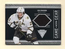2011-12 Titanium Game-Worn Gear Loui Eriksson Jersey Card (Stars)