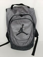fdf1b09fa421 Nike Air Jordan Jumpman Backpack Grey Black Elephant Laptop Storage  9A1414-783