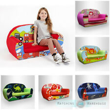 Kids Children's Soft Foam Toddlers Sofa 2 Seater Seat Nursery Baby Settee Play