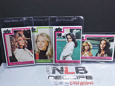 Topps 1977 Spelling-Goldberg Charlies Angels TV Show Trading Cards 4 Cards