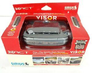 XACT SIRIUS Plug + Play Satellite Radio Receiver & Vehicle Kit Visor XTR3CK