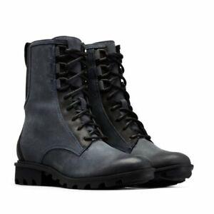 New Sorel Phoenix 7.5 Waterproof Navy Leather Boot