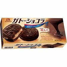 """Morinaga, """"Gateau chocolat"""" Cocoa Cake Sandwiches w/Cream 6pc in 1 box"""