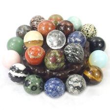 30mm round ball sphere stones natural gemstone quartz crystal healing