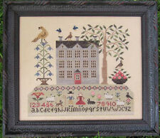 10% Off The Scarlett House Counted Cross-stitch chart - Life on Sampler Hill