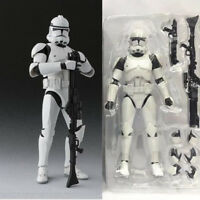6 ''Shf S .H .Figuarts Star Wars Clone Trooper Phase Ii Captain Action Figure