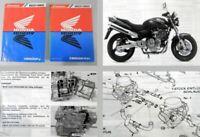 Werkstatthandbuch Honda CB600 F / FII Hornet Reparaturanleitung 1998-2000
