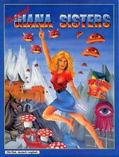 Framed Print - Great Giana Sisters Commodore Amiga C64 Game Cover (Picture Art)