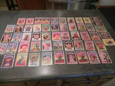 GARBAGE PAIL KIDS LOT - 268 CARDS - 1985,86,87- TOMMY GUN, BONY TONY ETC