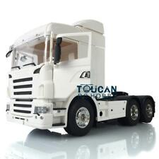 1/14 Hercules 3Axles RC Scania Midtop Trailer Tractor Truck KIT Motor Model 802