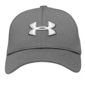 Under Armour Kids Boys Blitzing Cap Junior Baseball HeatGear Breathability Punch