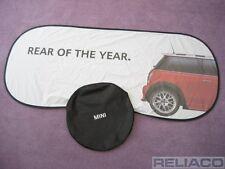 """BMW Mini Mk1 R50 R52 R53 Windscreen Sun Shade Blind """"Rear Of The Year"""" Genuine"""