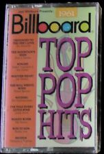 Billboard Top Pop Hits: 1961 (Cassette, 1994, Rhino) NEW