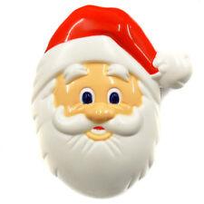 "ACME Santa Claus Head Refrigerator Magnet clip That sings ""Ho Ho"" 92767- 99767"