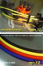 Ignition Kit MSD Coil Pack MSX80 Spark Plug Cables Wires Focus Zetec 2.0 SVT ZX2