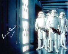 LAURIE GOODE as a Stormtrooper - Star Wars GENUINE AUTOGRAPH UACC (Ref:8472)
