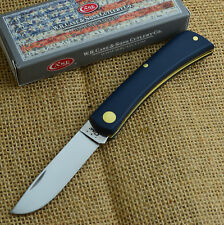 Case XX American Workman Series Blue Sod Buster Jr Pocket Knife 13019 4137 SS
