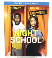 Night School Blu-ray DVD Digital Code New Sealed Kevin Hart Universal Studios