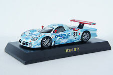 KYOSHO~NISSAN RACING CAR COLLECTION NISSAN R390 GT1 1998 ~ 1/64 (Free Shipping)