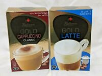 Bellarom Instant Cappuccino or Latte 17g X10 / 19.5g X8 Coffee New Recipe Gold