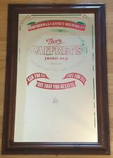 More details for vintage pub mirror caffrey's irish ale - 91 x 60cm - (ask for it, call for it)