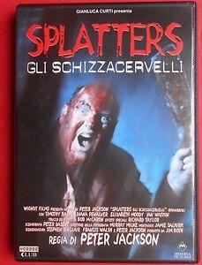 Rare Horror Movie DVD Movie Splatters Gli Dead Alive Braindead Peter JACKSON