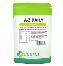 Multivitamin A-Z Daily x 90 Tablets; Multivitamins & Minerals; Lindens