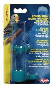 Hagen Living World Bird Cage COMBO WATERER or FEEDER Large