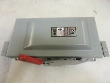 SIEMENS HF361J HEAVY DUTY SAFETY SWITCH 30A 600V (HAS BEEN MOUNTED) *NEW NO BOX*