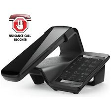 iDect LLOYD Home Telephone Black Cordless Landline Call Blocking, Answer Machine